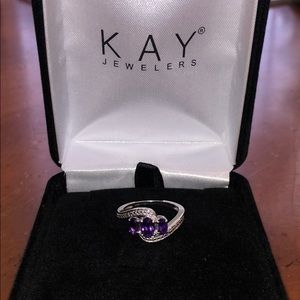 Sterling silver ring KAY Jewelers **Brand new**